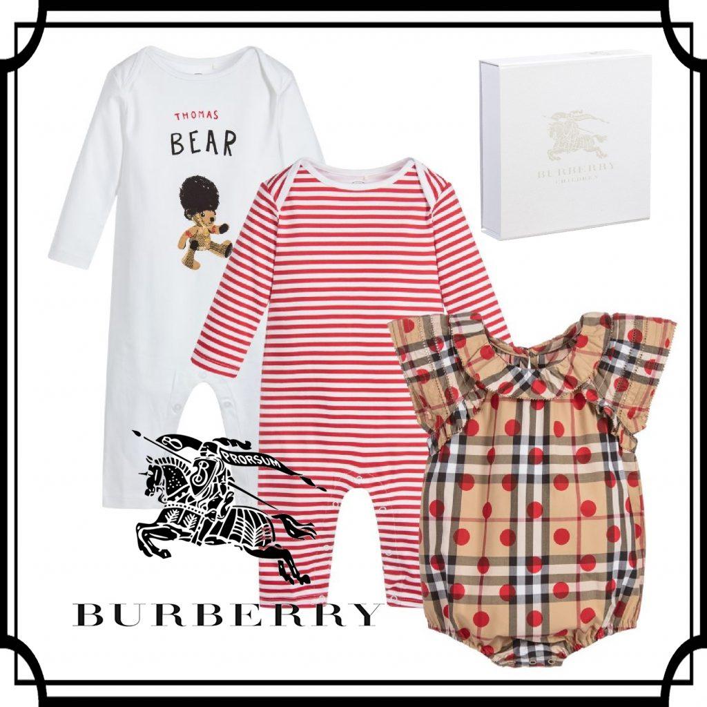 バーバリー☆ベビー服ギフトセット
