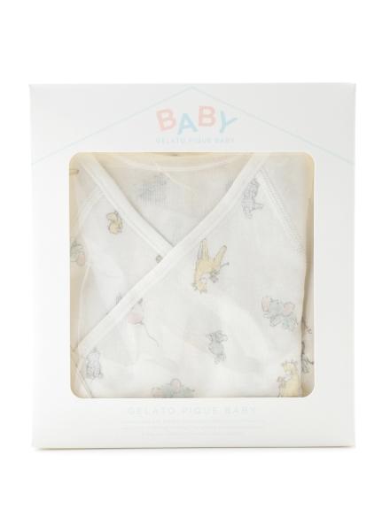7bf4464c5634a gelato pique Kids&Baby (ジェラートピケ キッズアンドベイビー)  新生児 アニマルバルーンコンビ肌着ギフトセット価格  4