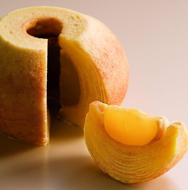 りんごのバウムクーヘン