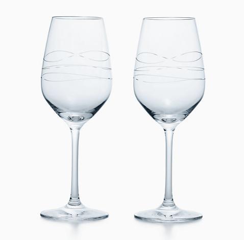 ティファニー カデンツ ワイン グラス